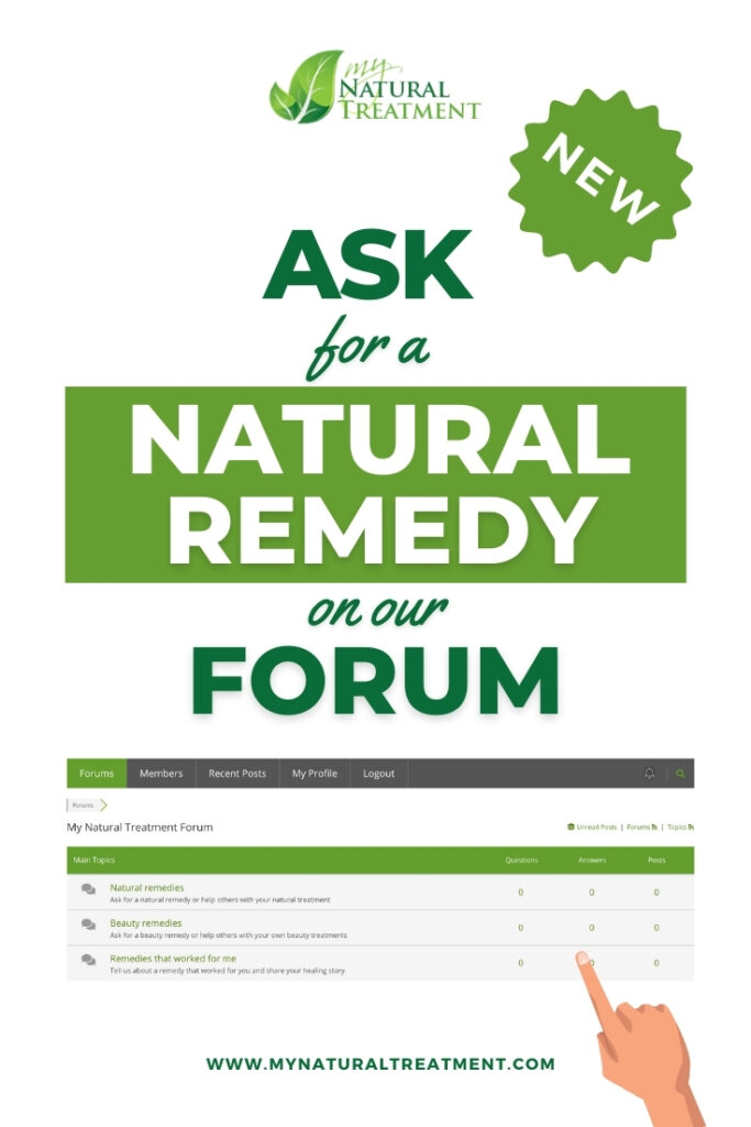 Home Remedies Forum - Ask a Question
