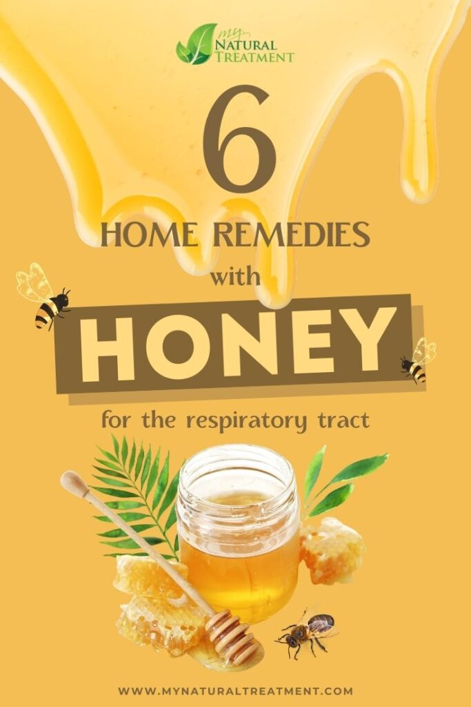 6 Home Remedies with Honey for The Respiratory Tract - MyNaturalTreatment.com
