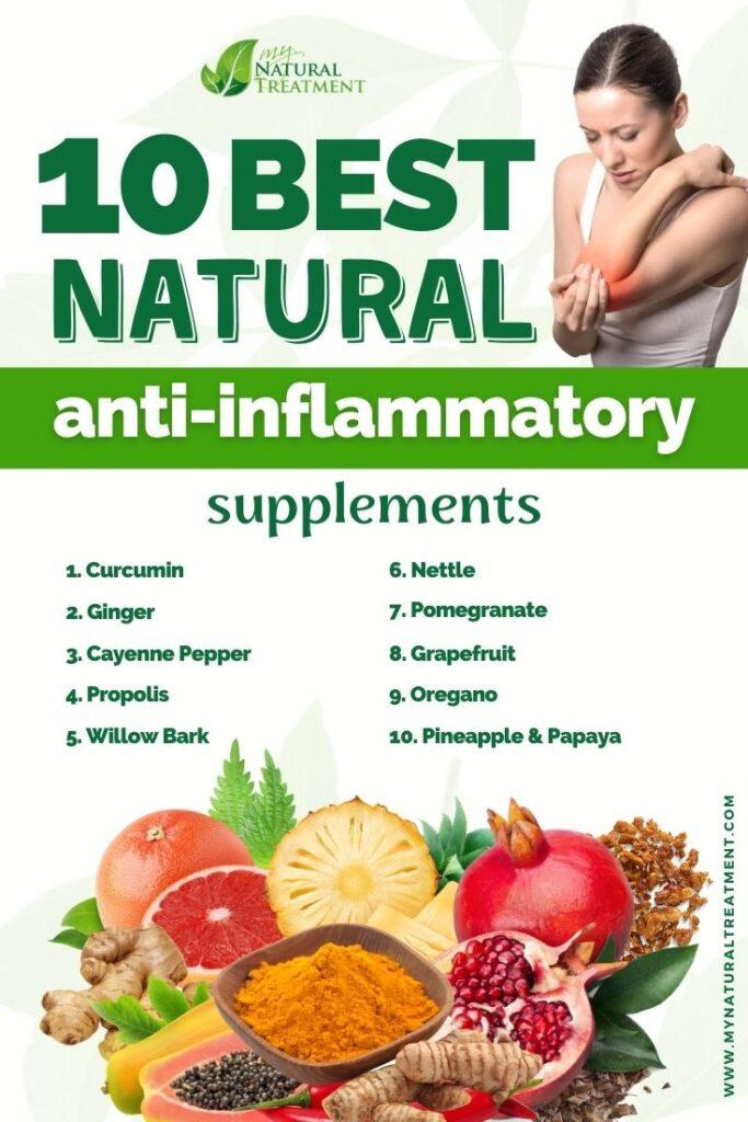 10 Best Natural Anti-Inflammatory Supplements - MyNaturalTreatment.com