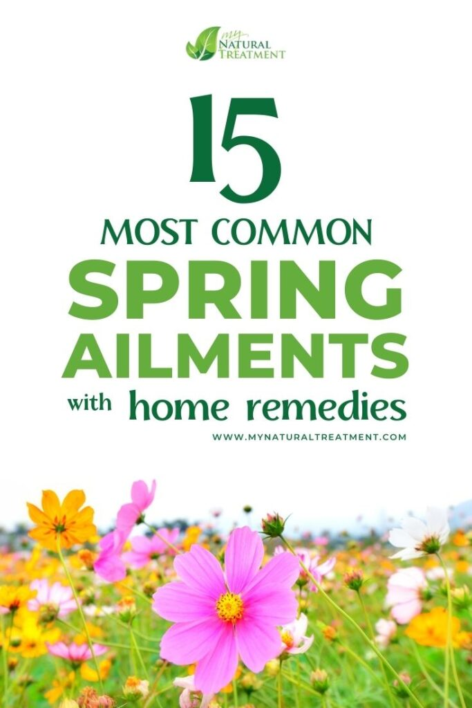 15 Most Common Spring Ailments and Their Home Remedies - MYN