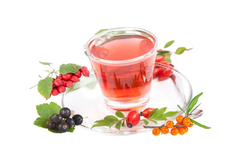 5 Amazing Natural Recipes for Spring Energy - Cold Berries Macerate
