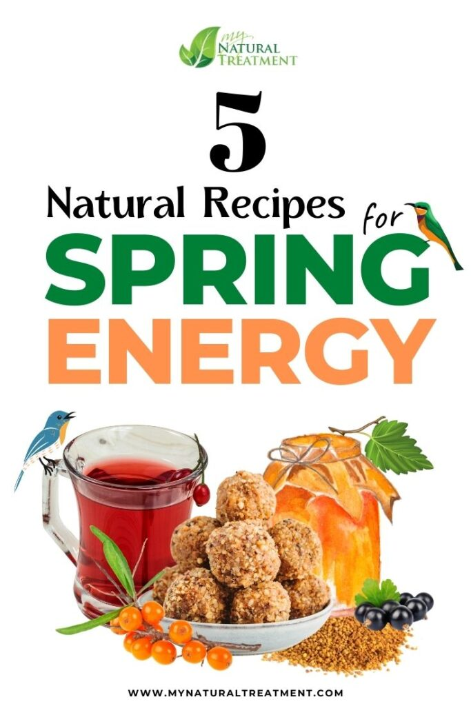 5 Amazing Natural Recipes for Spring Energy - MYN