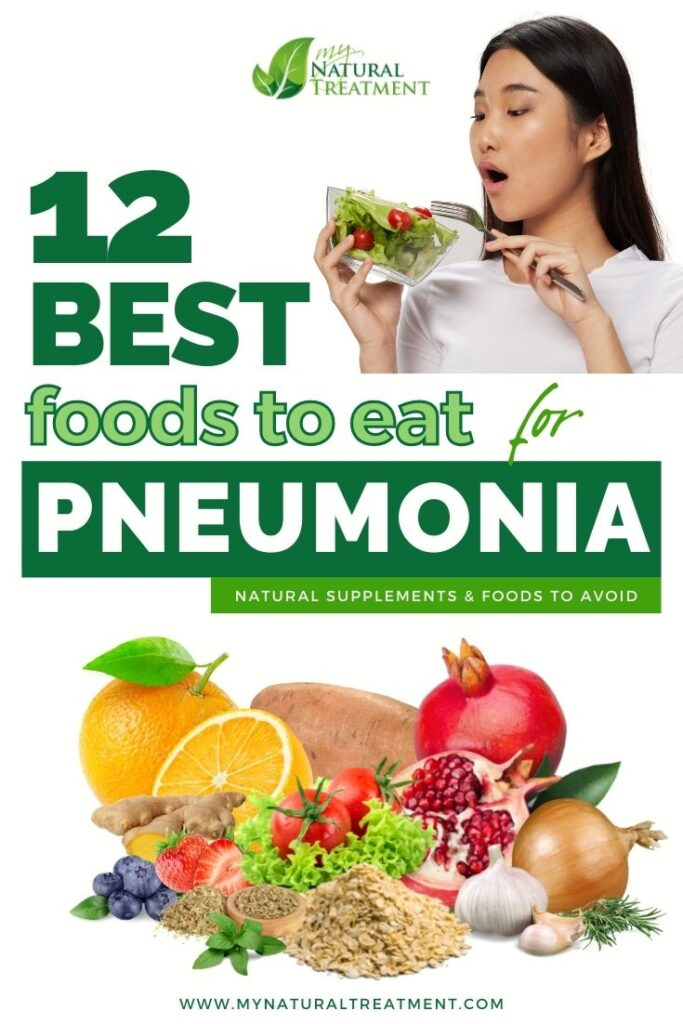 12 Best Foods to Eat for Pneumonia Recovery - MyNaturalTreatment.com