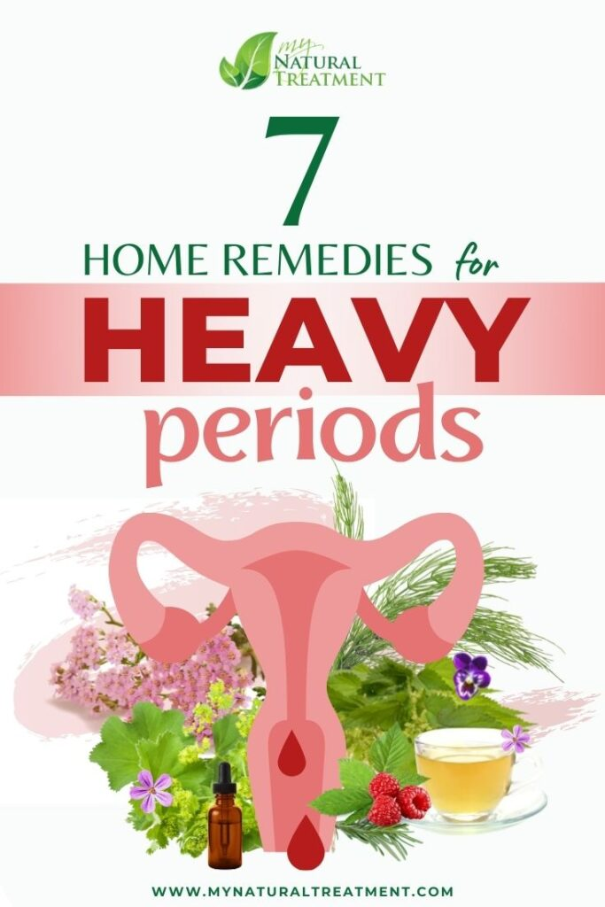 7 Effective Home Remedies for Heavy Periods - MyNaturalTreatment.com
