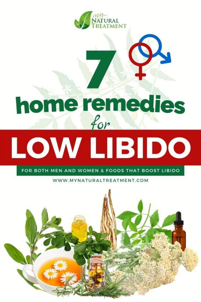 7 Home Remedies for Low Libido in Women & Men - MyNaturalTreatment.com
