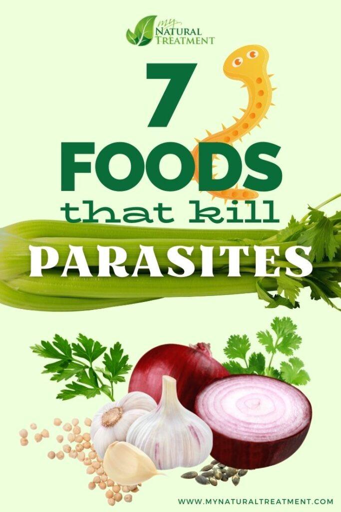7 Foods that Kill Parasites - MyNaturalTreatment.com